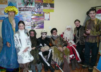 Организация и проведение новогоднего праздника для воспитанников ДЮСШ