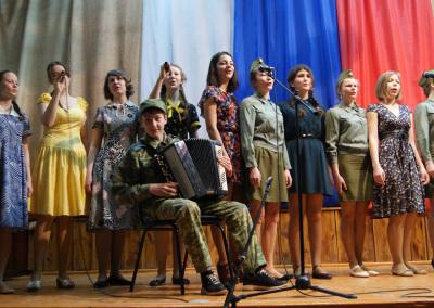 """Фестиваль военной песни """"Песенный круг"""""""