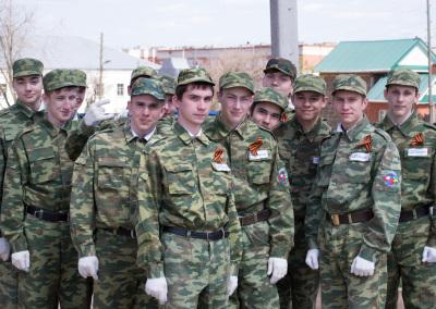 Участники Почетного караула
