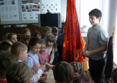 Музейный урок для воспитанников детских садов
