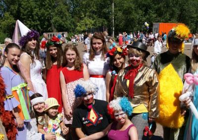 Волонтёрская акция  в составе городского совета молодежи - праздник для детей города