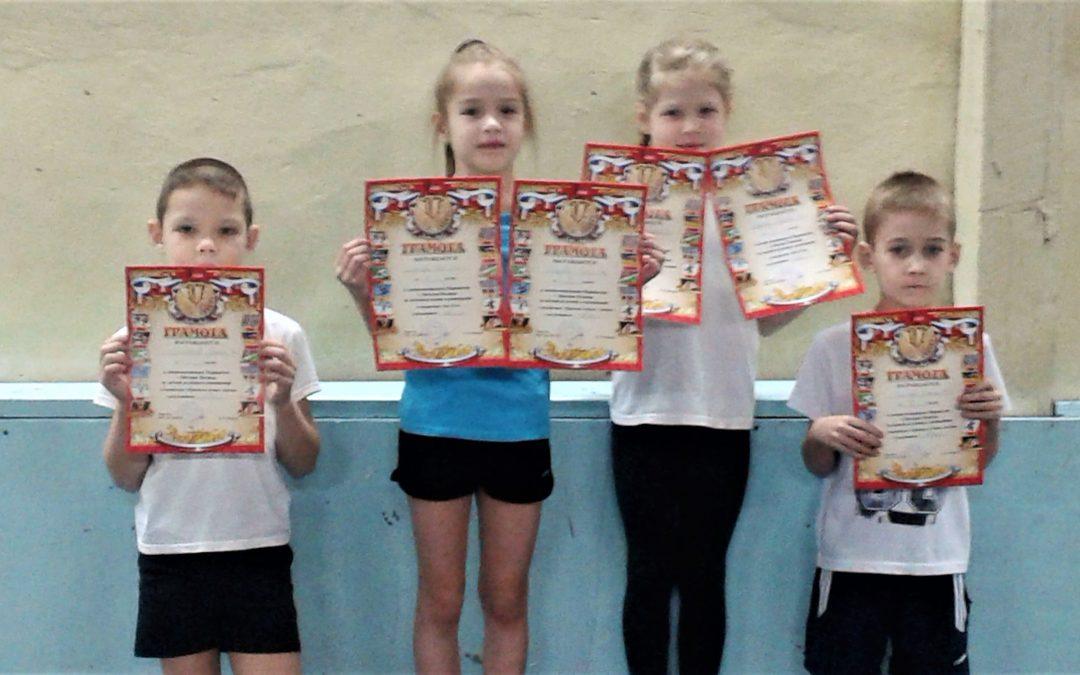 Спортивные успехи юных легкоатлетов