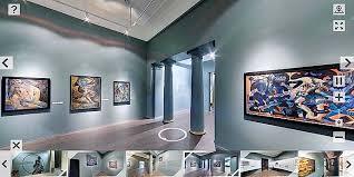 Виртуальные экскурсии, выставки и другие мероприятия учреждений культуры