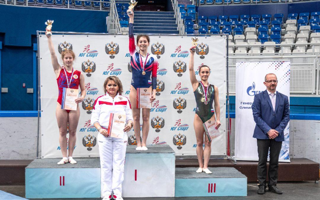Лицеистка — призер чемпионата России!